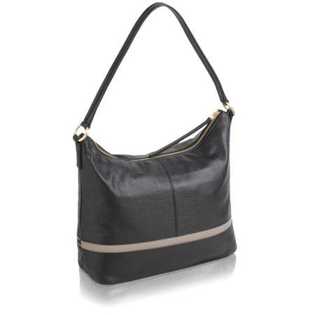 Radley Pickering black medium hobo
