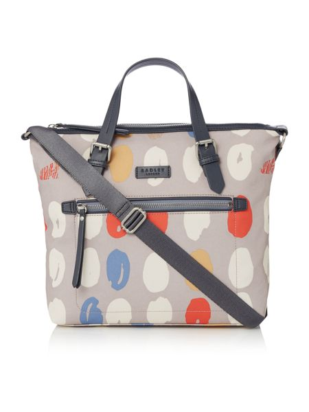 Radley DNA grey medium multiway bag