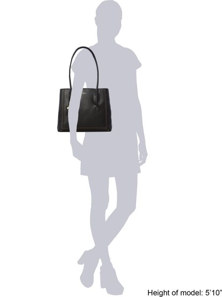 Radley Boundaries black large shoulder bag