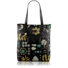Radley Herbarium black large shoulder bag