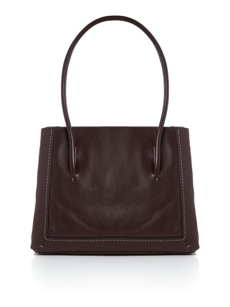 Radley Boundaries brown large shoulder bag