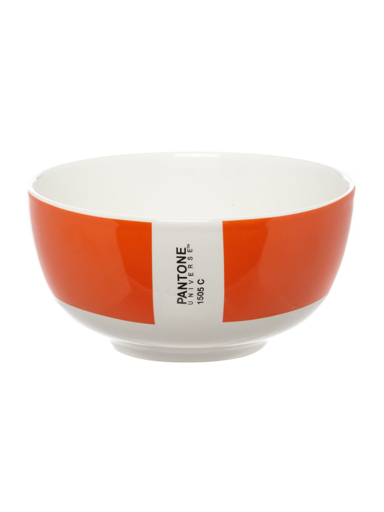 Image of Pantone Bowl luca trazzi orange