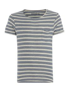 Jack & Jones Vintage Stripe Crew Neck T-shirt