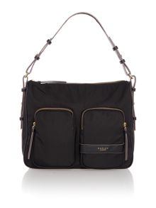 Radley Harley black large hobo bag