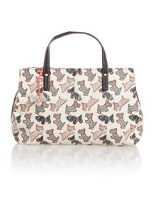 Radley Fleet street white medium multiway bag
