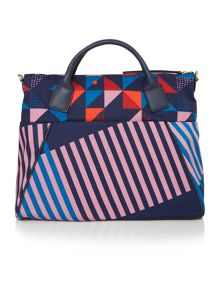 Radley Triagonal navy large multiway bag