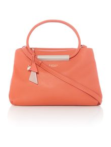 Radley Albemarle orange medium multiway bag
