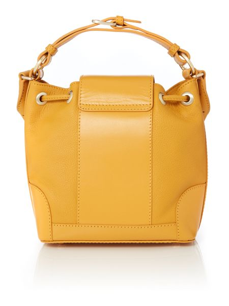 Radley Chancery yellow small multiway bag