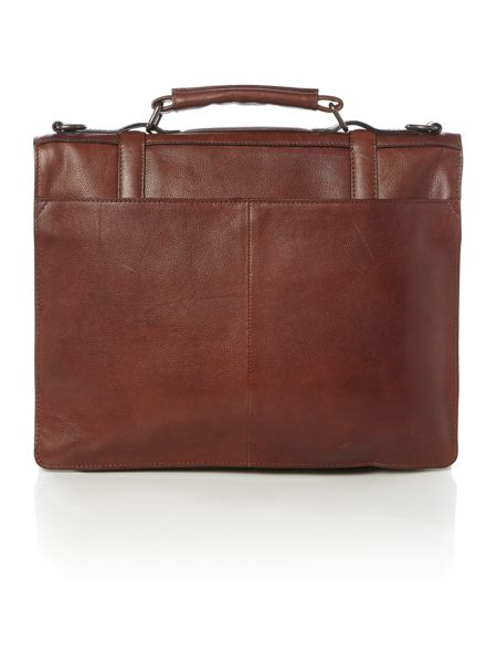 Howick Smart Mahogony Business Bag