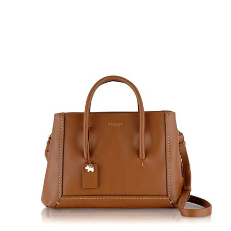 Radley Boundaries tan medium multiway bag