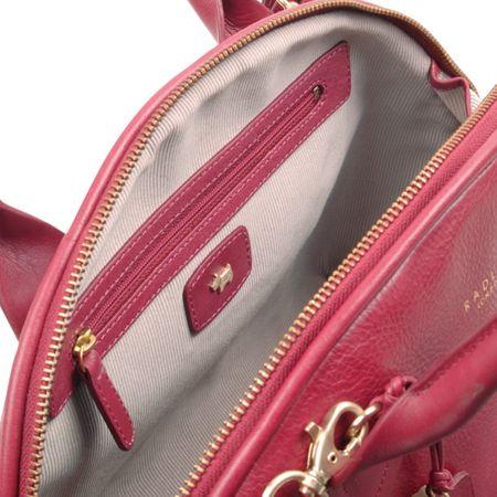 Radley Nightingale red small multiway bag