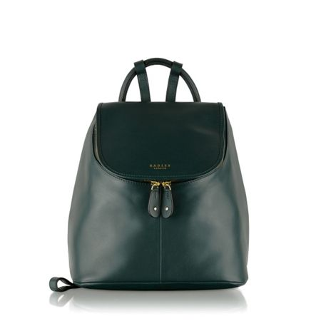 Radley Taplow green medium backpack
