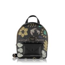 Radley Herbarium black medium backpack