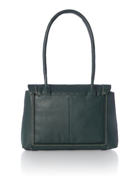Radley Boundaries green medium tote bag