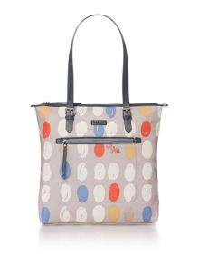 Radley DNA grey large tote bag