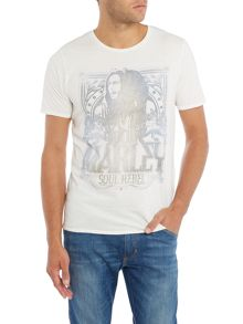 Jack & Jones Vintage Bob Marley Graphic Crew Neck T-shirt