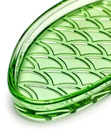 Serax Fish dish small transparent green