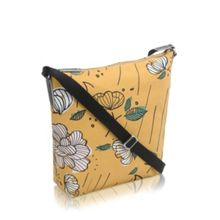 Radley Floristics yellow medium cross body bag