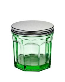 Serax Jar with lid small transparent green