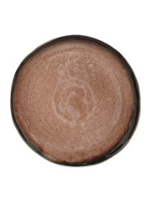 Serax Large round plate brown