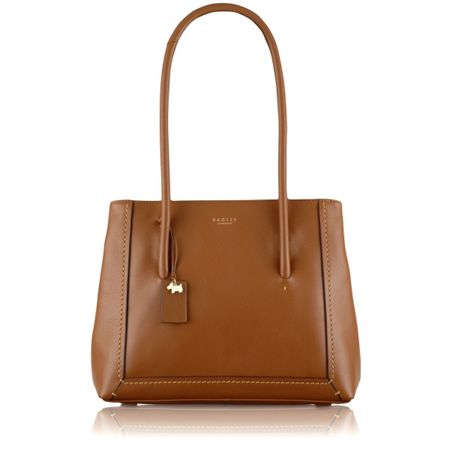 Radley Boundaries tan large shoulder bag