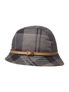 Barbour Winter tartan trench hat
