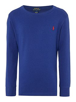 Boys Crew Neck Long Sleeve T-shirt
