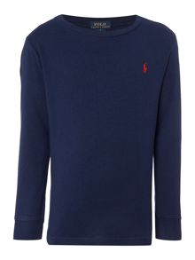 Polo Ralph Lauren Boys Crew Neck Long Sleeve T-shirt