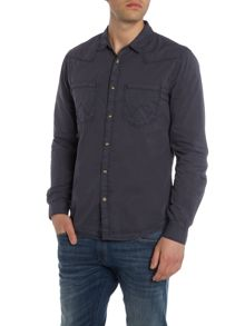 Wrangler Long sleeve 2 pocket western shirt