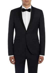 Label Lab Kingley SB1 shawl collar  skinny suit jacket