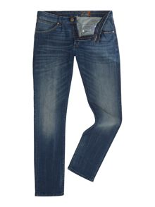 Wrangler Bryson mad skinny fit mid wash jeans