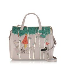 Radley Leader of the pack grey medium grab bag