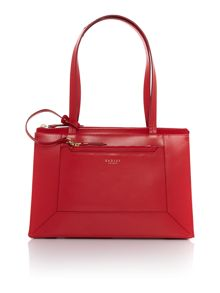 Radley Hardwick red medium tote bag