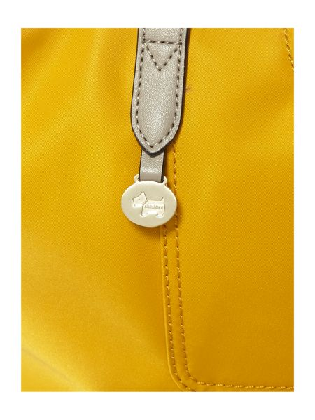 Radley Pocket essentials yellow large tote bag