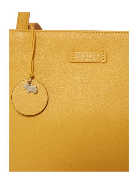 Radley Longacre yellow tote bag