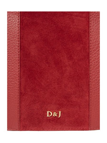 Dickins & Jones Berla stripe pouch