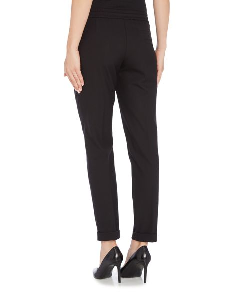Hugo Boss Ariyana8 Tie Waist Tapered Leg Trousers