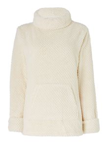 Dickins & Jones Shawl Collar Waffle Top