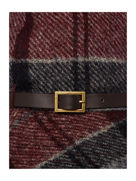 Barbour Carlin winter tartan trench hat