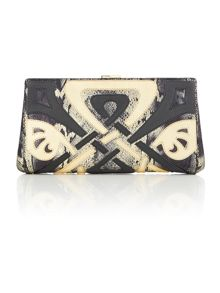 Biba Wow frame clutch bag