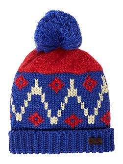 Icefield bobble hat