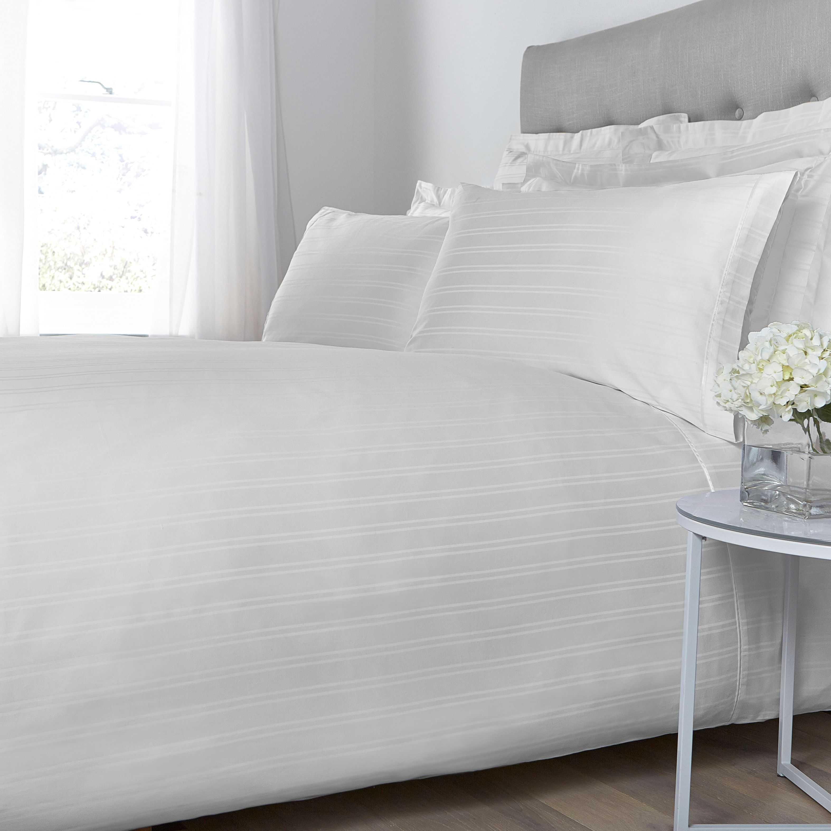 Luxury hotel collection woven stripe deep fitted sheet review for Luxury hotel 750 collection sheets