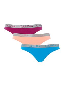 Radiant cotton bikini 3 pack