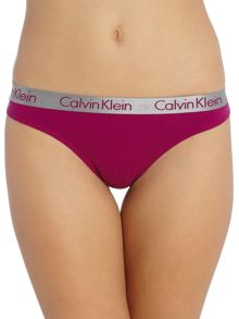 Calvin Klein Boxed Radiant cotton thong 3 pack