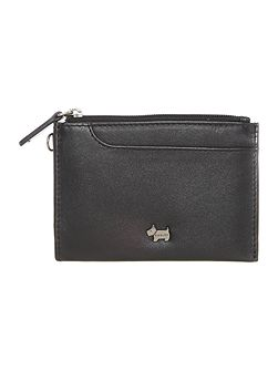 Pocketbag black small ziparound purse