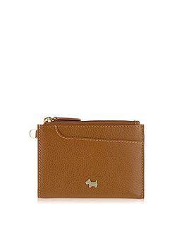 Pocketbag tan small ziparound purse