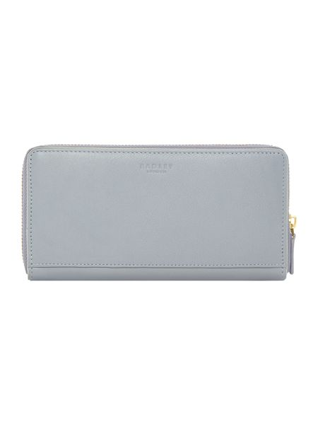 Radley Blair blue large ziparound purse