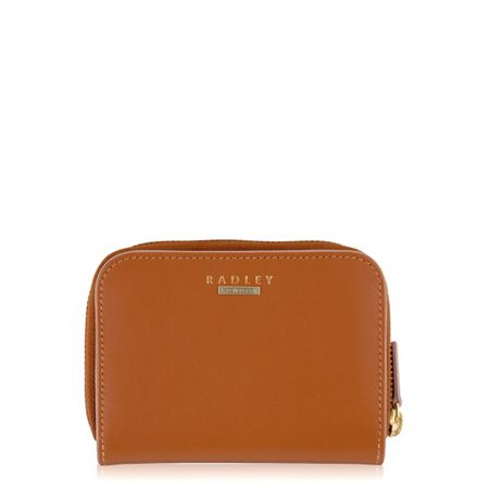Radley Felton tan medium ziparound purse