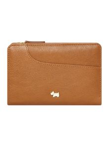Radley Pocketbag tan medium ziparound purse
