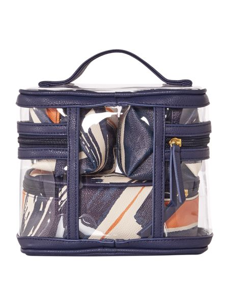 Dickins & Jones Triple vanity case
